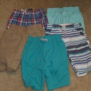 Bundle 5 Pairs of Nautic Boys Shorts
